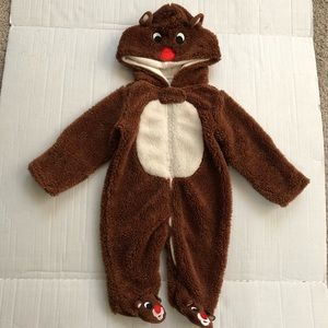 NWT Rudolph The Red Nosed Reindeer Sleeper SZ 6 MO